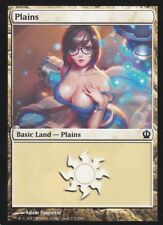 1x Altered Art Plains : Custom Basic Land non-foil MTG card