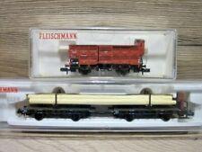 Fleischmann Spur N 8223+8366 Güterwagen Set DRG Ep.II OVP