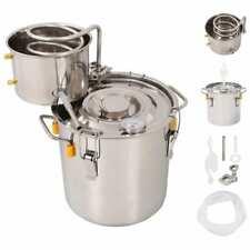 vidaXL Alambicco Distillatore per Acqua Alcolici in Acciaio Inox 10 L Liquori