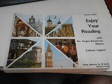 Antonio Amato ENJOY YOUR READING letture inglesi fotografie - imparare inglese