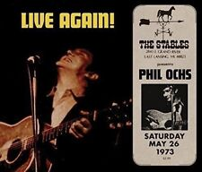 PHIL OCHS - LIVE AGAIN!   CD NEUF