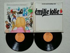 """2 LP 33T PHILIPPE CHATEL """"Emilie Jolie"""" RCA PL 37338 FRANCE 1979 )"""