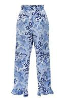 ✿WOW✿ Alice McCall Meant to Be Pants size 14 iridescent frilled Capri $320 BNWT