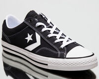 Converse Star Player Ox Summer Twill Men Shoes Mens Sneakers Black White 160559C