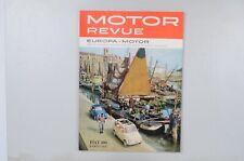 Motor Revue Europa Motor Ausgabe 38 Sommerausgabe 1961