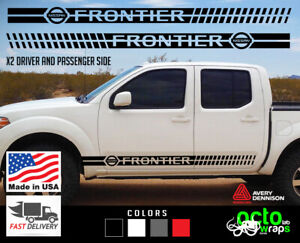 fits nissan frontier 2X sides doors decal sticker accessories roof rack engine