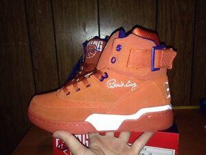Ewing 33 Hi Mecca Orange Packer Shoes Knicks Yzy Boost Sz 8.5 350 750 Fieg
