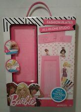 Barbie Fashion Plates All-in-One Studio - 45 pieces - Horizon Group USA