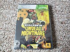 Red Dead Redemption: Undead Nightmare (Microsoft Xbox 360, 2010) New & Sealed