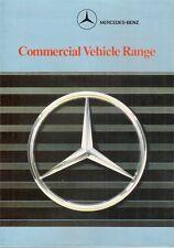 Mercedes-Benz Van & Truck 1988-89 UK Market Foldout Sales Brochure