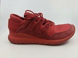 Size 11 - Adidas Men's Tubular Nova Triple Red 2016 - S74819 - 11/15 - Sneakers