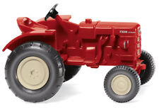 WIKING Modell 1:87/H0 Traktor Fahr Schlepper rot #087705 NEU/OVP