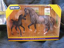 Breyer #62008 Classic Warmblood Stallion & Foal Set NRFB -  Made 2008--2010