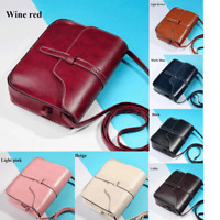 Fashion Women Vintage Purse Bag Leather Cross Body Shoulder Messenger Bag Gifts~