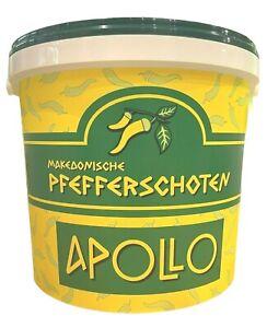 Griechische Peperoni 1 A / Pfefferschoten 7 Kg Eingelegte mild-mittelscharf