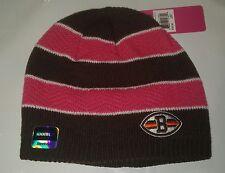 Cleveland Browns Reebok Knit Beanie Winter Hat Toque Skull Cap - New Pink BCA