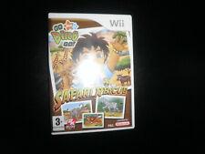 Nintendo Wii-Go Diego Go Safari Rescue En Caja