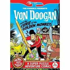 Von Doogan and the Curse of the Golden Monkey (The Phoenix Presents)-ExLibrary