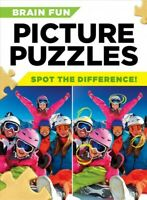 Brain Fun Picture Puzzles : Spot the Differences!, Paperback by Centennial Bo...