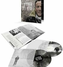 Bruce Springsteen:Letter To You New BLACK & WHITE SPLATTER Vinyl Sealed Limited