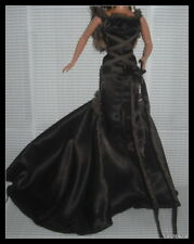 DRESS BARBIE DOLL CHOCOLATE OBSESSION BROWN EVENING GOWN  CLOTHING ACCESSORY