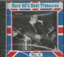 RARE 60'S BEAT TREASURES - Vol. 5 -  BRAND NEW -  CD