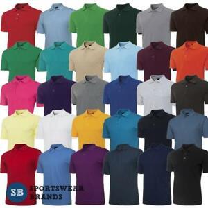Mens Signature Polo Shirt Top Casual Sport Size S M L XL 2XL 3XL 4XL 5XL New 210