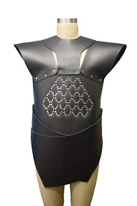 Real leather Game of Thrones Unsullied grey worm replica Armour theatrical Armor
