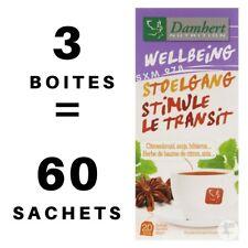 3 Boîtes Tisane Laxative Damhert Perte de Poids Minceur Régime Thé Détox Transit