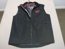 020 MENS NWOT WINCHESTER BLACK TOUGH POLY SHELL SHOOTING VEST SZE MEDM $120 RRP.