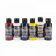 Airbrush Paint - Wicked Detail Primary Set - 6 x 60ml - W110-00
