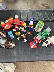 Lot of KNEX Mario Kart Wii Action Mini Figures Daddy Donkey Kong Yoshi MORE