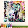 Abstrakte Wandbilder Elephant Tier Bild Leinwand Kunst Bilder Kunstdruck D1493