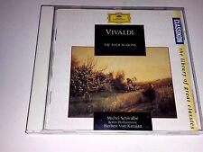 Vivaldi: The Four Seasons KARAJAN BPO (CD, Dec-1993, DG) FULL SILVER IMPORT