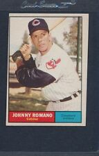 1961 Topps #005 Johnny Romano Indians VG/EX *410