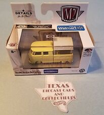 M2 Machines 1960 VW Double Cab truck Gold Chase Walmart Exclusive 1/750