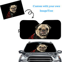 Custom Design Folding Car Window Sun Shade Auto Visor Windshield Print on Demand