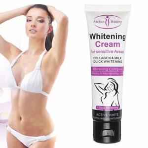 3 Days Body Skin Whitening Cream for Sensitive Area Armpit Leg Knee Private Part