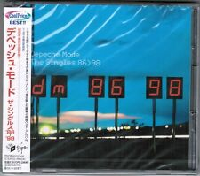 Sealed! DEPECHE MODE The Singles 86-98 RARE Cool Price OBI JAPAN 2CD TOCP53237~8