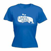 SAVE THE WHALES T-SHIRT tee humour funny birthday gift 123t present for him
