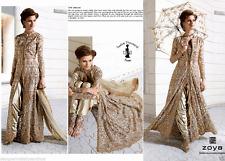 Ethnic Bollywood DESIGNER Partywear Salwar Kameez Indian Pakistani Anarkali Suit