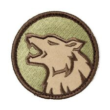 Wolf Head Dog K9 Tactical Morale USA Army Military Multicam Patch Free Ship