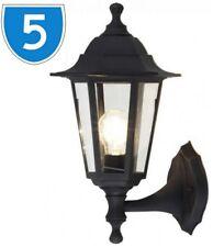 5X Led Moderno Linterna de Pared Inferior Lámpara Porche Luz para Exteriores
