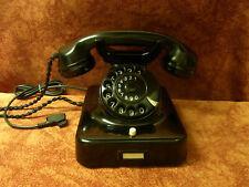 W48  Telefon Bakelit W 48 SIEMENS Telephone  Fernsprecher  Top!