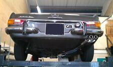 Mercedes 280SL,W113, Pagoda stainless steel exhaust,full bespoke exhaust system