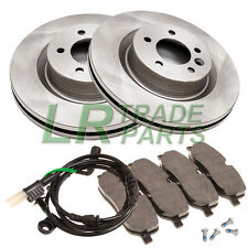 LAND ROVER DISCOVERY 3 TDV6 & V8 NEW REAR BRAKE DISCS, PADS & SENSOR KIT, SET