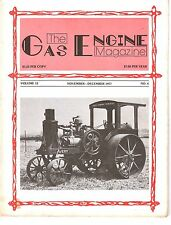1977 Gas Engine Magazine, Auto Sparkers, Antique Tractors and Gasoline Engines