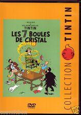 DVD TINTIN - Les 7 BOULES de CRISTAL langue Française zone 2 dessin animé Hergé