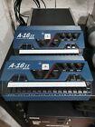 2 Aviom A-16II mixer hear monitor recording studio