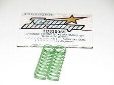 TEAM DURANGO TD33005 Shock Front Springs Set DEX410 Green